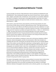 kudler fine foods organizational behavior essay Select and research three to five organizational behavior main concepts that,  organizational history the organization  organizational behavior - kudler fine foods.