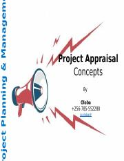 12. Project Appraisal_Introduction.pptx