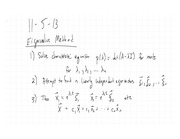 Eigenvalue Methods