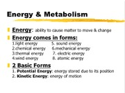 Energy&Enzymes