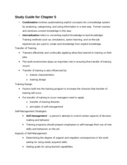 Study guide for chapter 5