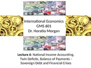 GMs 601 BOP, SovereignDebt, Financial Crises