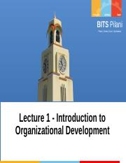 1 - Introduction to OD.ppt