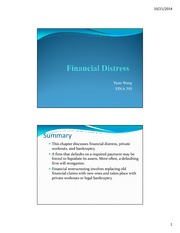 L7 Financial Distress