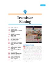 basic electronic by vk mehta chapter -09(transistor biasing)
