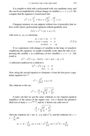 College Algebra Exam Review 309