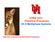 Ch6 Multiphase Systems