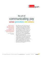 The Art of Communicating Pay across Generations and Cultures