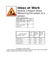 Report Sheet Module 3.doc