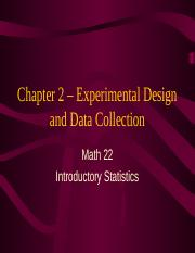 Chapter 2 - Experimental Design and Data Collection.ppt