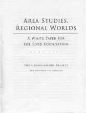 Globalization-Project-Area-studies