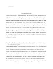 Annotated Bibliography roman vs greek.docx