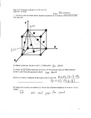 CHE350-Fall2009-Quiz2-Solutions