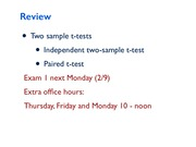 Lecture7 Statistical test selection and Contingency table for Natural Resources Statistics