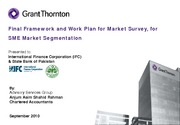 Final framework and work plan for market survey_SBP