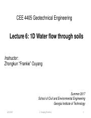 Notes_Lecture+6+-+1D+Water+flow+through+soils+1.pdf