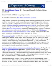 #29Climate Change - Causes + Examples in Earth History