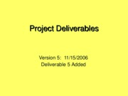 ProjectDeliverables-Fall2006.v5
