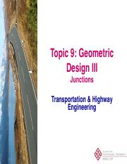 CSE312 - Topic 6a Geometric Design III_Junction Layout_15