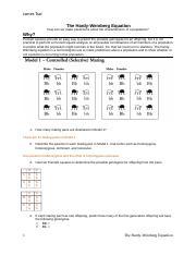 YEN CHIH TSAI - The Hardy-Weinberg Equation POGIL.docx ...