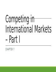 Chapter 7 - Selecting International Strategies - Part I - for students.pptx