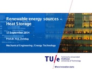 RES_Heat Storage_2014-2015