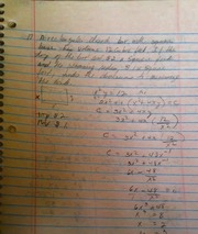 MATH 08000 Notes on finding Area with functions