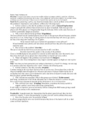 policy speech worksheet