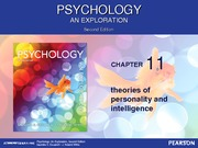 Chapter 11 Introductory Psychology F13 for posting