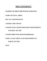 HRM IN PUBLIC SECTOR- DR. RAZIA.docx
