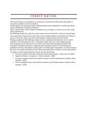 Credit Rating.docx