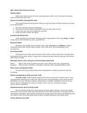 Bukti Audit Docx Bukti Audit Hakikat Bukti Bukti Audit Adalah Semua Informasi Yang Digunakan Auditor Untuk Mencapai Kesimpulan Yang Menjadi Dasar Course Hero