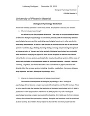 biological psychology worksheet essay View essay - worksheet week 1 from psych 625 at university of phoenix biological psychology worksheet 1 psych/630 version 1 university of phoenix material biological.