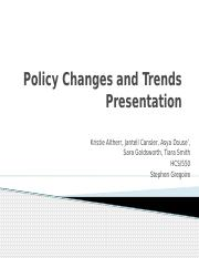 Policy Changes and Trends Presentation (1)-1