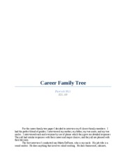 Career Family Tree final