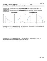 3.3 Concavity and the Second Derivative Test.docx