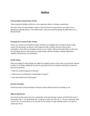 Public Speaking chapter 2 outline
