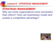 ADMS 1000 Corporate and Business Strategy