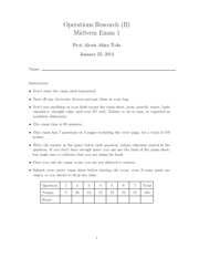 172B Midterm 1 Solutions