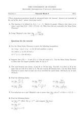 Tutorial 8 Answers