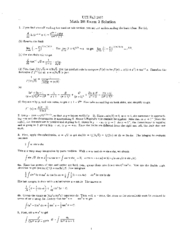 Math 2B  F01 Exams with Solutions