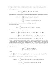 Homework G Solutions on Nonlinear Models for Univariate and Multivariate Response