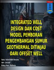 well design geothermal drilling