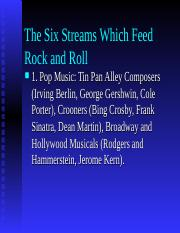 The_Six_Streams_Which_Feed_Rock_and_Roll.ppt