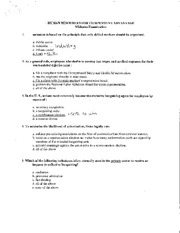 HR competitive advantages midterm