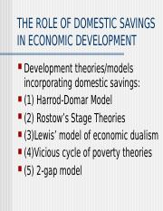 ECON 2P17 : Economic Development - Brock University ...