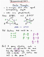 Right Triangles Exam Review