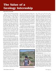 The value of a geology internship.pdf