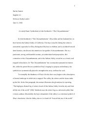 Eng111 essay2 thesis