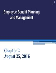PPT02 Aug 25 2016 Benefits design